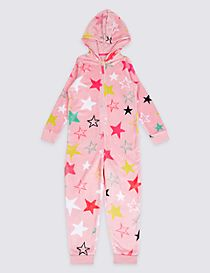 Star Print Onesie (1-16 Years)