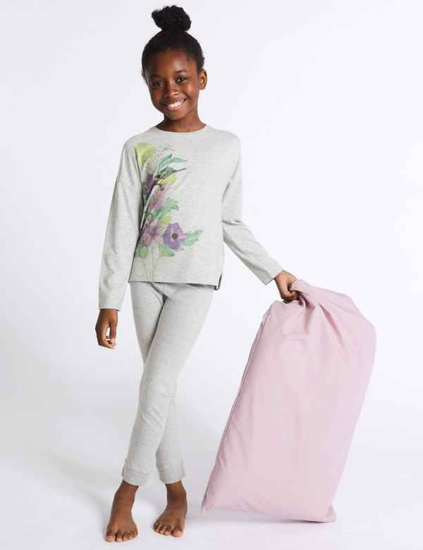 39406a513c Floral Print Pyjamas (3-16 Years)