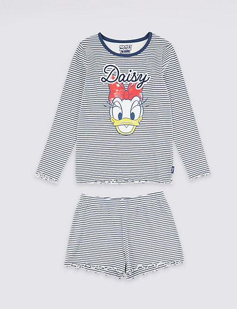 Disney™ Daisy Duck Short Pyjama Set (3-16 Years)
