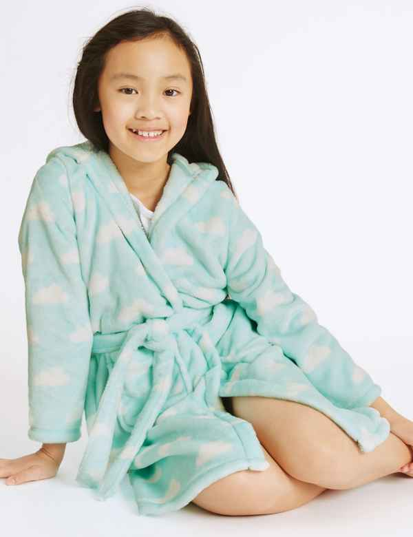 Cloud Print Dressing Gown (1-16 Years) cd0bf9551