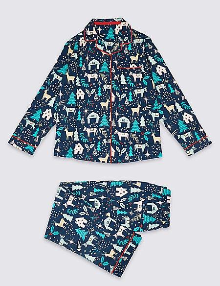 Pure Cotton Pyjamas (1-16 Years)