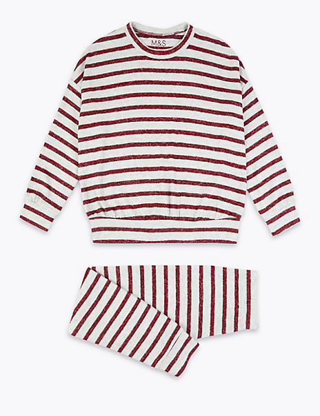 Striped Pyjama Set (3-16 Years)