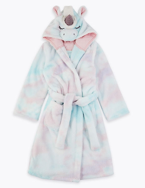 Unicorn Dressing Gown (1-16 Years)