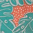 Pure Cotton Palm Print Short Pyjamas (3-16 Years), GREEN MIX, swatch