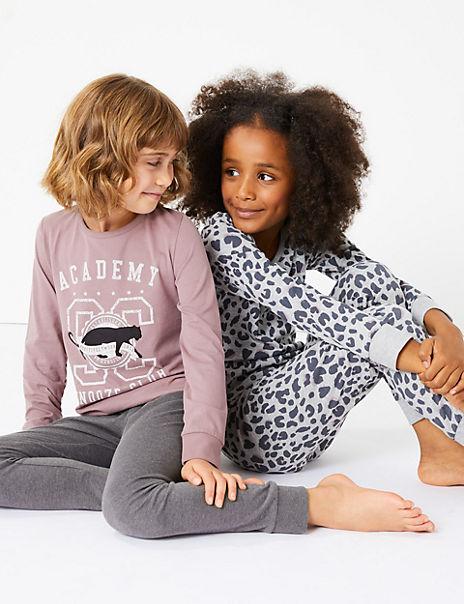 2 Pack Snooze Club Pyjama Set (3-16 Years)