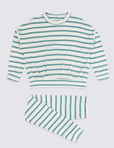 Striped Lounge Pyjama Set (3-16 Years)