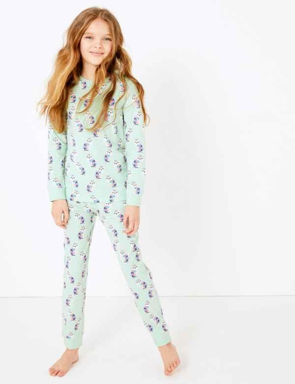 Girls pyjamas PJs shorts shorties Marks /& Spencer Emoji Age 12-13 WAS £18