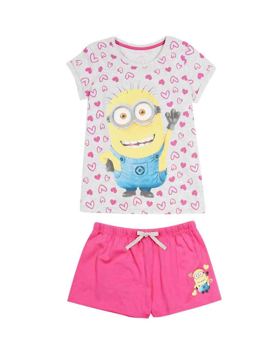 173954073f228 Despicable Me™ Minion Short Pyjamas (3-14 Years)