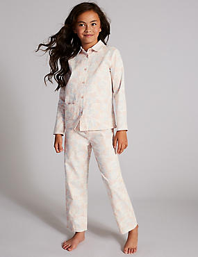 Pure Cotton Printed Pyjamas (1-16 Years)