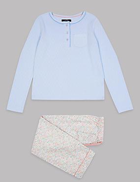 Floral Print Pyjamas (3-16 Years)