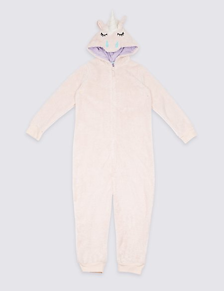 e21d9cc331a9 Unicorn Hooded Onesie (1-16 Years)