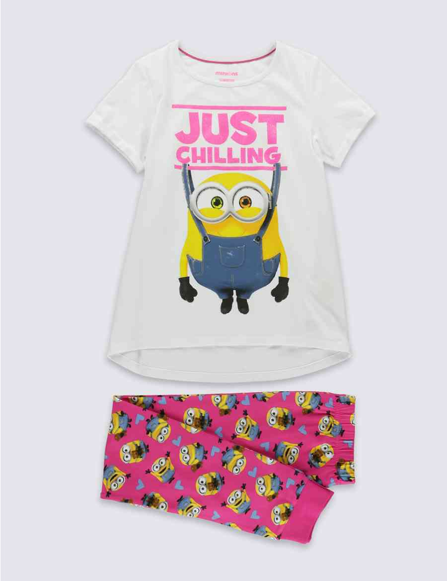 Cotton Rich Despicable Me™ Minion Pyjamas (3-14 Years)  8e1a2c0db
