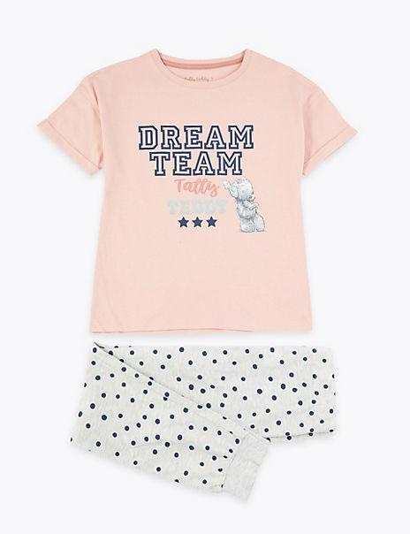 Tatty Teddy™ Spotted Design Pyjamas (3-16 Years)