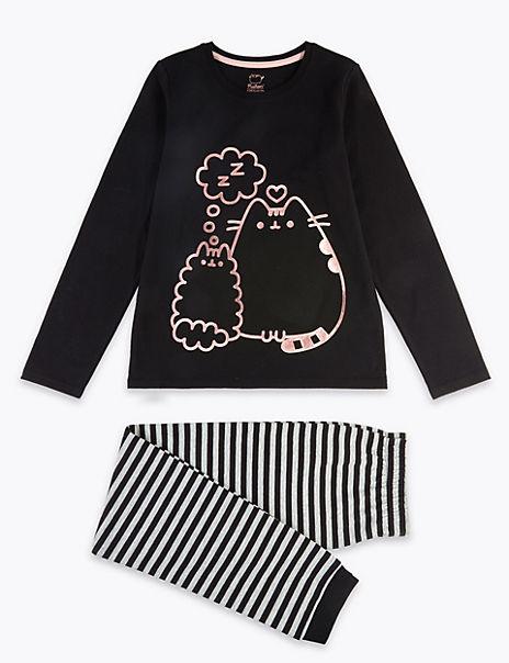 Cotton Rich Pusheen Pyjama Set (9-16 Years)