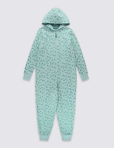 Long Sleeve Spot Onesie (6-16 Years)