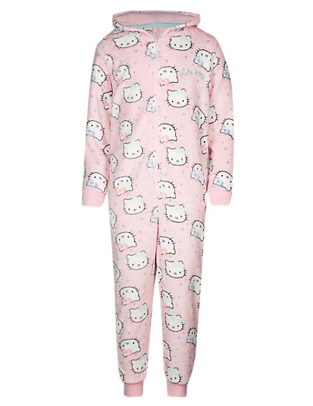Hello Kitty Hooded Onesie (6-16 Years)