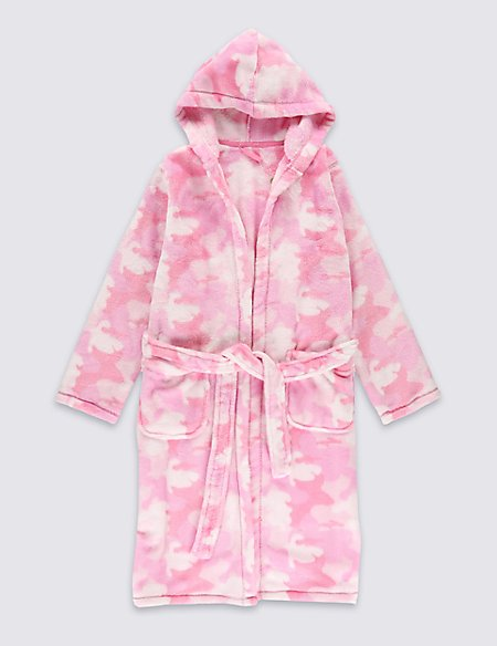 Core Camouflage Dressing Gown (1-16 Years)