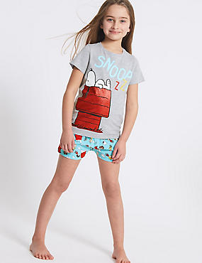 Snoopy™ Printed Short Pyjamas (7-16 Years)
