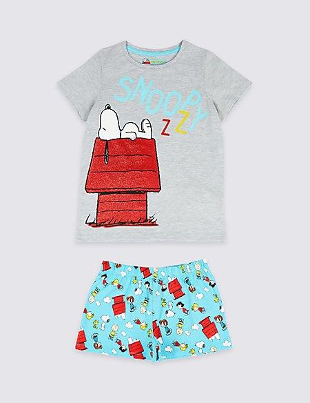 Snoopy™ Printed Short Pyjamas (7-16 Years)