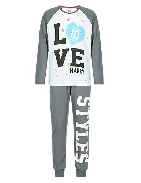Pure Cotton One Direction Pyjamas - Harry (5-16 Years) | M&S