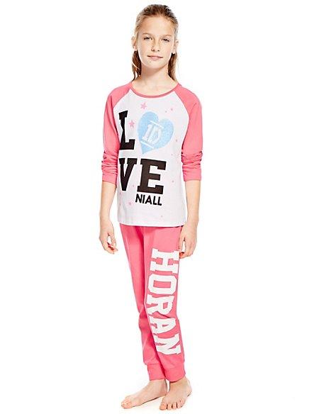 Pure Cotton Niall One Direction Pyjamas (5-14 Years) | M&S