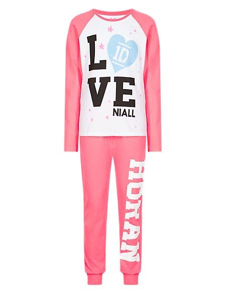 Pure Cotton Niall One Direction Pyjamas (5-14 Years)