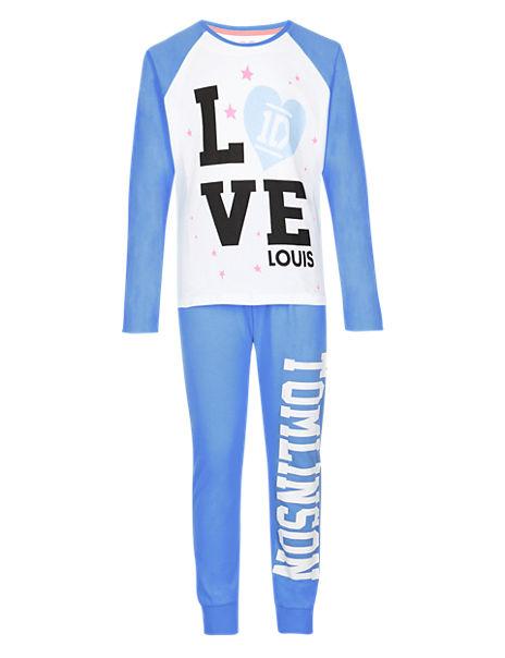 Pure Cotton One Direction Pyjamas - Louis (5-16 Years)