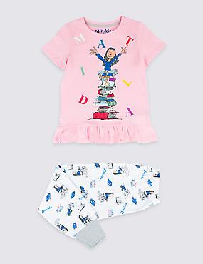 Matilda Pure Cotton Pyjamas (3-11 Years)