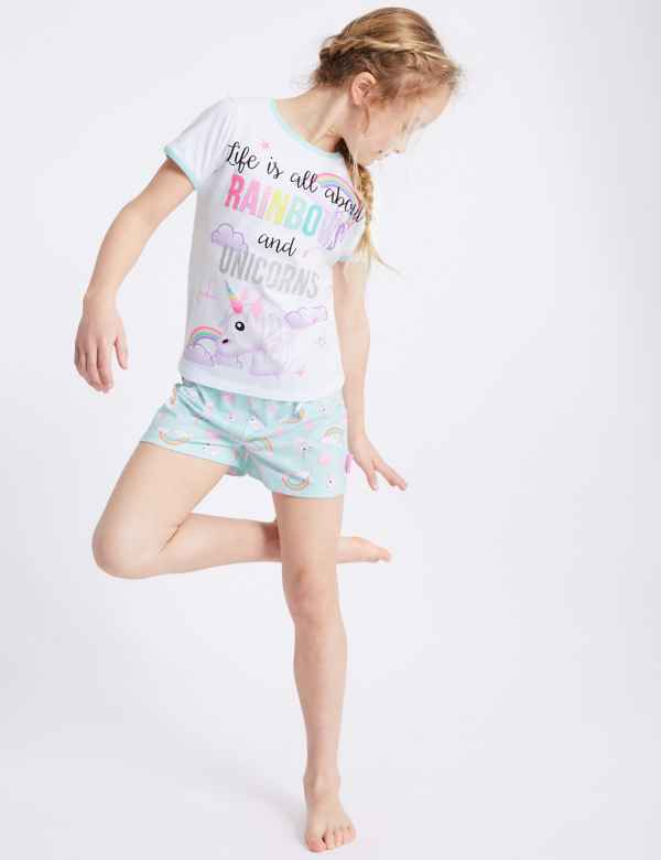 Emoji™ Printed Short Pyjamas (7-16 Years) b90abe894