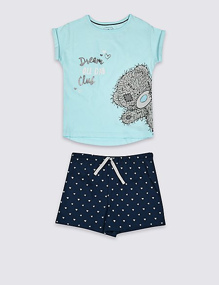 Pure Cotton Short Pyjamas (3-16 Years)