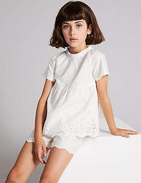 Pure Cotton Short Pyjamas (1-16 Years)