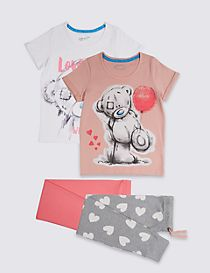 2 Pack Printed Pyjamas (3-16 Years)