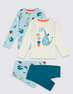 2 Pack Mouse Knight Pyjamas (1-7 Years)