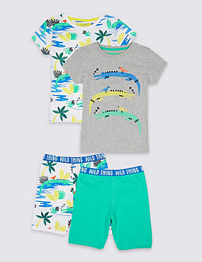 2 Pack Short Pyjamas (1-7 Years)
