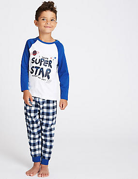 Purer Cotton Super Star Pyjamas (1-7 Years)