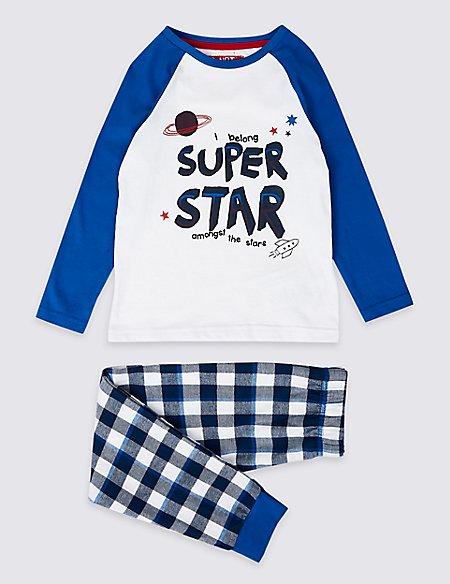 Purer Cotton Super Star Pyjamas (1-7 Years)