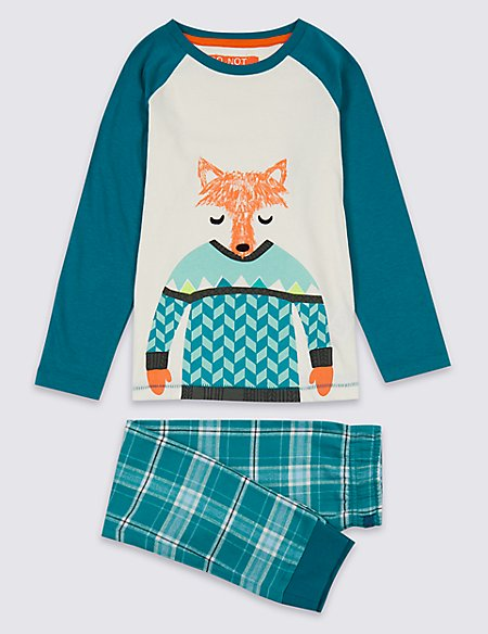 Woven Fox Pyjamas (1-7 Years)