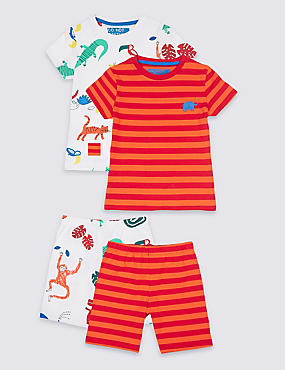 2 Pack Pyjamas with Stretch (1-7 Years)
