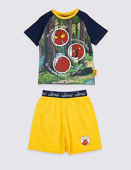 The Gruffalo™ Pure Cotton Short Pyjamas (1-8 Years)