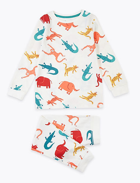 Animal Design Pyjamas (1-7 Years)