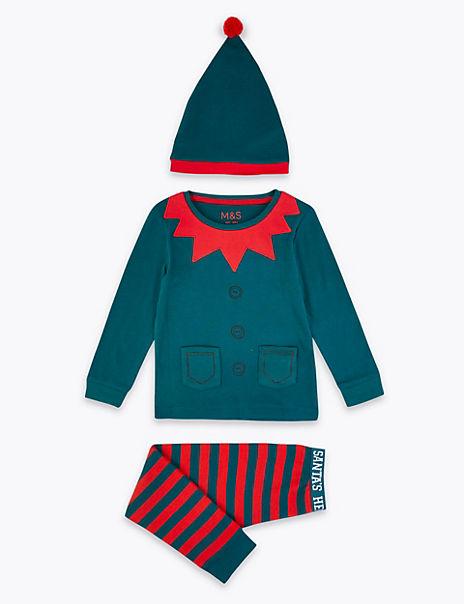3 Piece Elf Pyjama Set (1-7 Years)