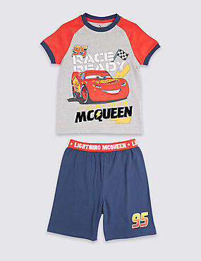 Disney Cars™ Pure Cotton Short Pyjamas (1-7 Years)