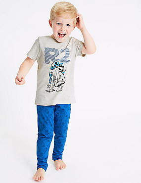 Star Wars™ Pure Cotton Pyjamas (1-8 Years)