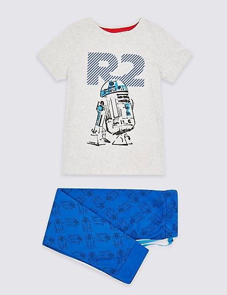 Star Wars™ Pure Cotton Pyjamas (1-8 Years)