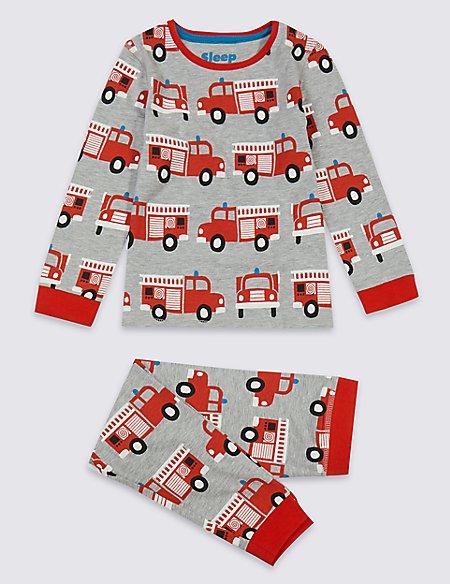 Fire Engine Pyjamas (1-7 Years)