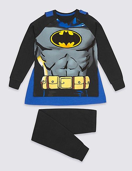 Batman™ Pyjamas with Cape (2-10 Years)
