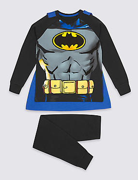 Batman™ Pyjamas with Cape (2-10 Years)