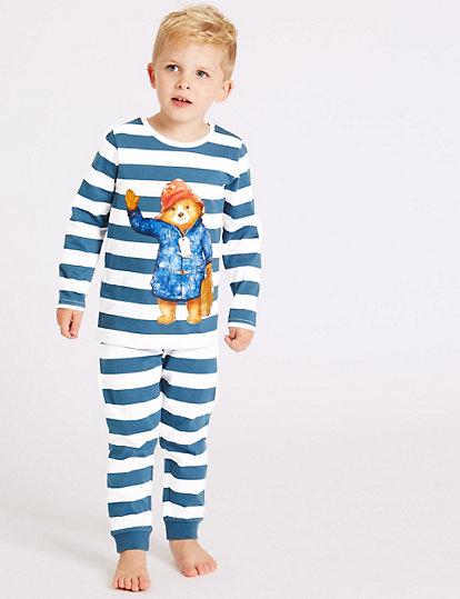 Zwangerschapskleding Pyjama.Pyjama Met Paddington Motief 1 7 Jaar Pyjama S Ochtendjassen