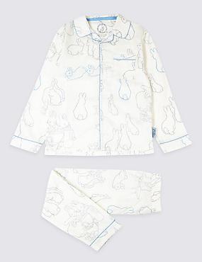 Peter Rabbit™ Pyjamas (1-6 Years), WHITE MIX, catlanding