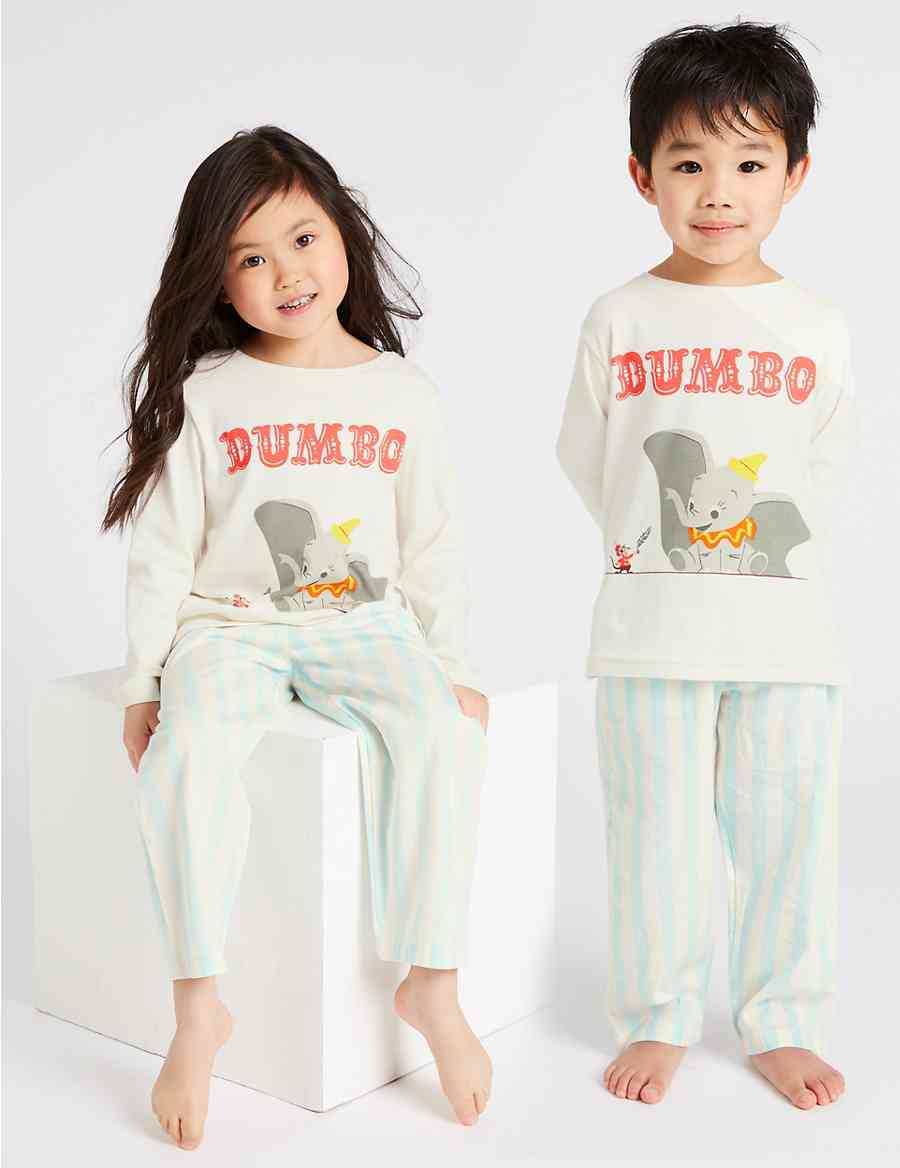 ff7da3d95 Disney Dumbo™ Pure Cotton Pyjamas (1-6 Years)